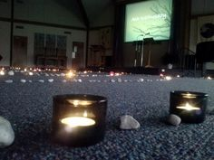 Ash Wednesday 2013   Stone & Light Labyrinth