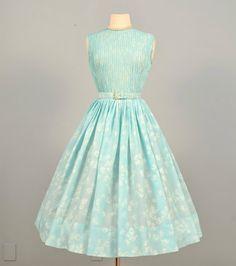 Vintage 1950s Day Dress via Deoma's Boutique