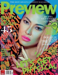 Ruffa Gutierrez, May 2009 V Magazine, Magazine Covers, Cosmopolitan, Vanity Fair, Marie Claire, Nylons, Interview, Glamour, Madame