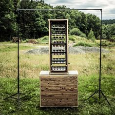 Eyewear Concept - A crash course in modern rustic merchandising, the Andy Wolf eyewear concept display is a stylish modular merchandising system. Designed to display...