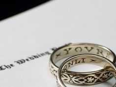 egyptian wedding band - Egyptian Wedding Rings