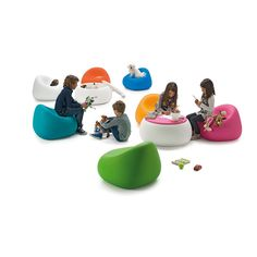 Gumball Armchair Junior from Plust Designed by Alberto Brogliato A strong and ergonomic 1-seater junior chair with no edges, for children during playtime and relaxation time. www.swcontracts.co.za info@swcontracts.co.za 011 262 3521