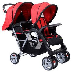 Double Stroller: Foldable twin double stroller holds 2 kids up to 33 lbs each. This stroller features solidity and stability. The foldable twin double stroller is perfect for storage and carry. It is designed for twins with double strollers. Twin Strollers, Best Baby Strollers, Double Strollers, Double Stroller Jogger, Jogging Stroller, Bugaboo Stroller, Travel Stroller, Twin Babies, Twins