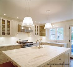 Classic kitchen with Imperial Danby marble countertop