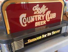 Goetz Country Club beer sign