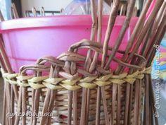 Мастер-класс Поделка изделие Плетение Двойная загибка Трубочки бумажные фото 4