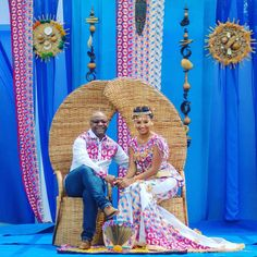 Image may contain: 3 people African Wedding Theme, African Wedding Attire, African Theme, African Attire, African Dress, African Wear, Traditional Wedding Decor, African Traditional Wedding, Traditional Wedding Invitations