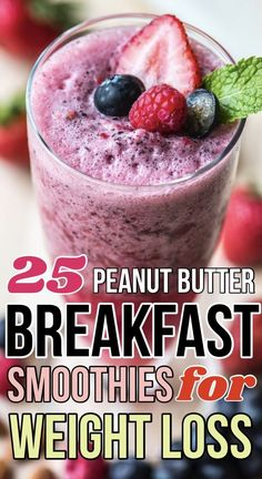 20 Peanut Butter Breakfast Smoothie Ideas for Healthy Weight Loss Breakfast Smoothies For Weight Loss, Oatmeal Smoothies, Yummy Smoothies, Weight Loss Smoothies, Smoothie Recipes, Peanut Butter Breakfast, Peanut Butter Smoothie, Healthy Peanut Butter, Healthy Meals For One