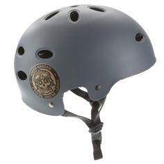 PRO TEC Skateboard Helmet B2 SKATE Matte Gray Sz SMALL