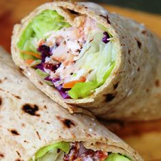 Cranberry Cherry Chicken Wrap – a a quick and healthy lunch wrap, that comes together in a snap thanks to convenience grocery items and packs a punch with a whole grain flat bread wrap and lots of protein to keep you going strong!