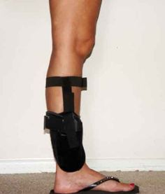 The Well Armed Woman Ankle Holster : The most comfortable ankle holster there is! Gun Holster, Holsters, Concealed Carry Women, Big Girl Toys, Custom Glock, Hunting Guns, Guns And Ammo, Self Defense, Firearms