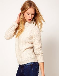 Enlarge Vila Cable Knit Sweater