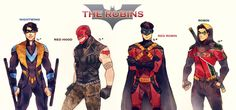 The Robins by Maby-chan.deviantart.com on @DeviantArt