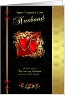 Husband Valentine's Day Card - Happy Valentine's Day Husband Card by Greeting Card Universe. $3.00. 5 x 7 inch premium quality folded paper greeting card. Greeting Card Universe offers the largest selection of Valentine's Day cards on the web. Whether for one person or the whole family, a paper card will make your Valentine's Day memorable this year. Look no further than Greeting Card Universe for your Valentine's Day card needs. This paper card includes the following themes: Hus...