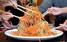 Yu Sheng, Sepiring Doa Di Tahun Baru China  #Food #News #Kuliner