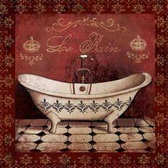 red bath- Marie Elaine Cusson  800 x 800