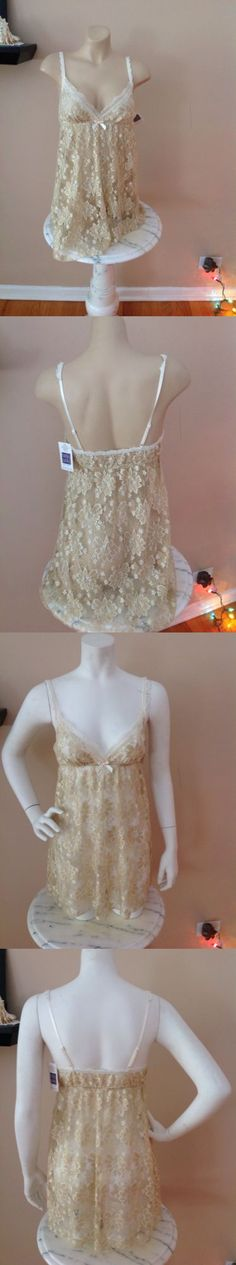 Slips 11532: Hanky Panky Glitted Chemise Gold Size S Or M Brand New W Tags! -> BUY IT NOW ONLY: $39.99 on eBay!
