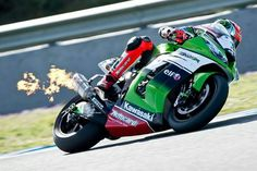 Kawasaki Racing Team Press Release: First round and the Kawasaki Racing Team are in the mix. Podium for Sykes, second spot in the series for Baz and a great show from Evo rider, David Salom.(2013)