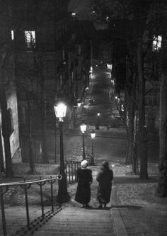 Parigi, Montmartre, 1930.