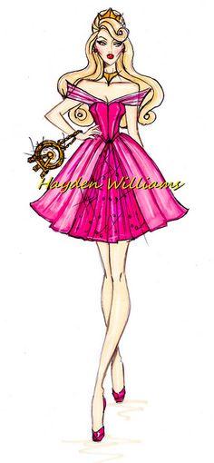 The Disney Divas collection by Hayden Williams: Aurora by Fashion_Luva, via Flickr