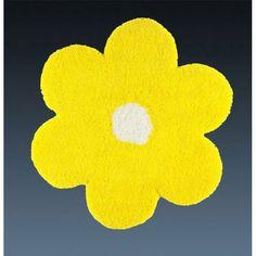 Ковер желтый цветок детский Daisy #carpet #carpets #rugs #rug #interior #designer #ковер #ковры #дизайн  #marqis