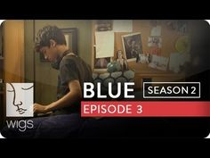 """Blue"": Season 2, Ep. 3 -- ""It's Just a Crutch"": It's decided that Josh must attend therapy to remain at his current school. Josh wants to meet his grandfather.  Watch the first 7 episodes of Blue season 2 now on youtube.com/wigs. #watchwigs #bluefriday"