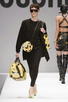 Hello Sponge Bob! Moschino @ Milan Fashion Week 2014