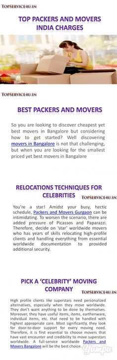 top-packers-movers-india-charges - Magazine with 6 pages: