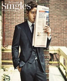 Extra Singles Shots Of Joo Won From The November 2015 Issue | Couch Kimchi