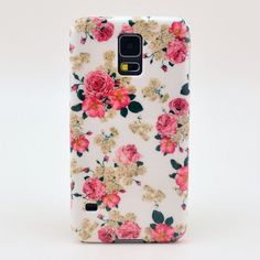 2014 New White Hard Cover Case for Samsung Galaxy S5 Case Free Shipping
