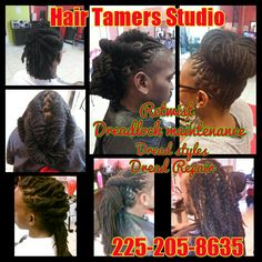 Dread lock shop in Baton rouge #HairTamersStudio