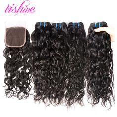 Brazilian Virgin Hair with Closure Brazilian Water Wave with Closure Wet and Wavy With Closure Curly Human Hair With Closure http://jadeshair.com/brazilian-virgin-hair-with-closure-brazilian-water-wave-with-closure-wet-and-wavy-with-closure-curly-human-hair-with-closure/ #HairWeftClosure(Bang)