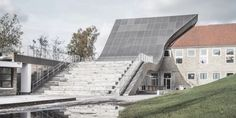 #Architecture in #Denmark - #Cultural Center by Sophus Søbye Arkitekter, WE Architecture
