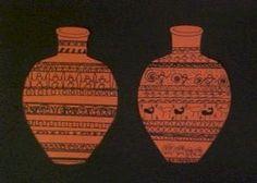 Greek Pottery Designs Lesson - Art History - KinderArt
