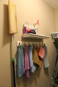 Goal for my cleaning closet. (Picture from Ericka Byer Independent Norwex Consultant)