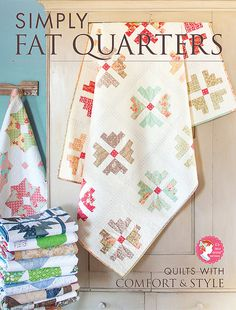 Simply Fat Quarters Book It's Sew Emma Patterns - Fat Quarter Shop, love that cover quilt