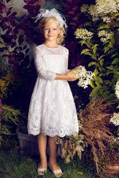 Elegancka sukienka komunijna