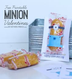Printable Valentine | One in a minion
