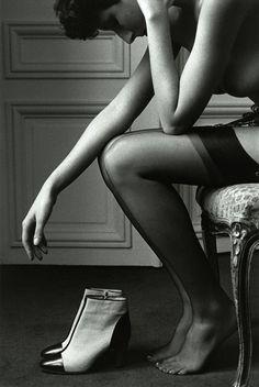 Lisa Gerber by Jeanloup Sieff, Paris 1979