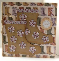 The Potting Shed collection, card designed by Kath Woods.  Gorgeous autumnal feel to collection featuring gardening tools, sheds, hedgehogs, flower pots, Wellington Boots, and all,things to do with the garden. Preference for both male and female cards.