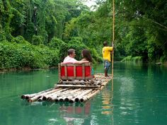Montego Bay to do: Rafting on the Martha Brae River