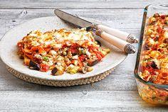 Λαζάνια με λαχανικά και στρώσεις τυριών από την Αργυρώ Μπαρμπαρίγου | Αυτο το πιάτο είναι από μόνο του ικανό να κλέψει την παράσταση