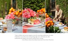 How to Style a Wedding Table by Anne Book #theeverygirl