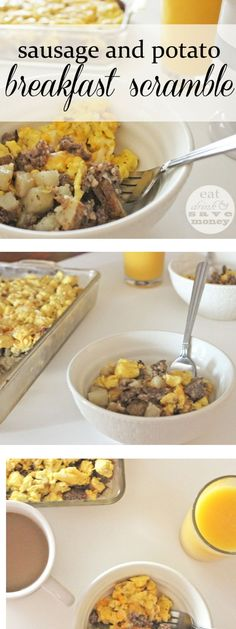 Easy Breakfast Scramble - Eat, Drink, and Save Money