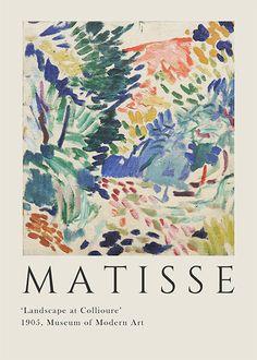 Matisse Art, Henri Matisse, Matisse Prints, Matisse Paintings, Images Murales, Art Exhibition Posters, Arte Sketchbook, Poster Prints, Art Prints