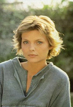 Another inspiration for when I cut my hair this summer... Michelle Pfeiffer - Ladyhawke