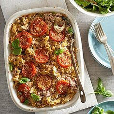 Tuscan Tuna Mac Casserole From Better Homes and Gardens, ideas and improvement projects for your home and garden plus recipes and entertaining ideas.