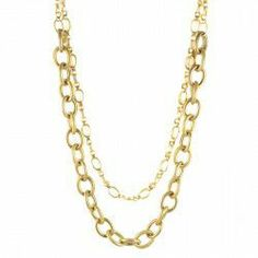 Lindsey Convertible Chain Necklace - Pinklette