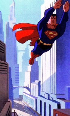 Superman: The Animated Series by Bruce Timm Comic Book Characters, Comic Book Heroes, Comic Character, Comic Books, Superman And Lois Lane, Superman Family, Bruce Timm, Clark Kent, Mundo Superman