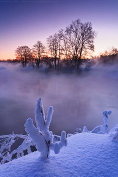 Pekhorka RIver, Moskow region, Russia